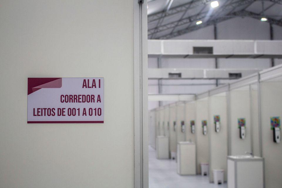 Governo de São Paulo inaugurou em 20 de maio o hospital de campanha em Heliópolis, na Zona