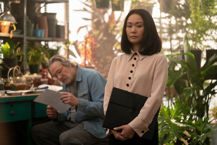 """Chris Cooper and Hong Chau in """"Homecoming."""""""