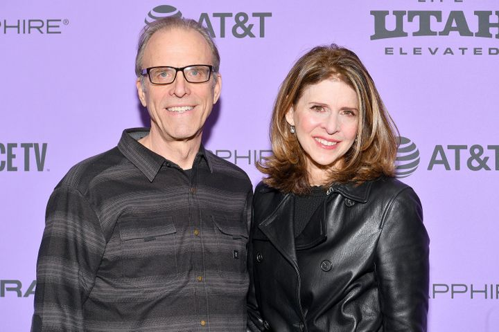 Directors Kirby Dick and Amy Ziering attend the 2020 Sundance Film Festival.