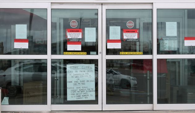 TORONTO, ON- APRIL 5 - Hardware Stores were added to the list of businesses that have to close as the...