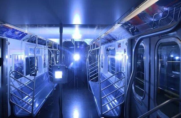 ニューヨーク市地下鉄、バス・鉄道の紫外線消毒試験に100万ドル(新型コロナ)