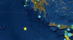 Σεισμός 5,9 Ρίχτερ ανοιχτά της