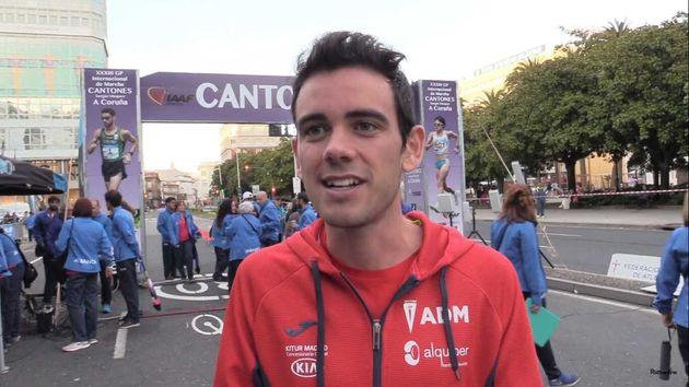 Diego García Carrera, en una