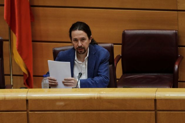Pablo Iglesias, el 14 de mayo de 2020 (Jesus Hellin/Europa Press via Getty