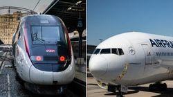 Train ou avion: lequel de ces transports a l'air le plus