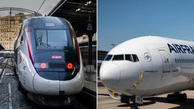 Train ou avion: lequel de ces transports a l'air le plus pur? (Images