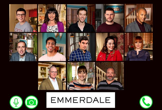 The cast of Emmerdale who will appear in the special lockdown