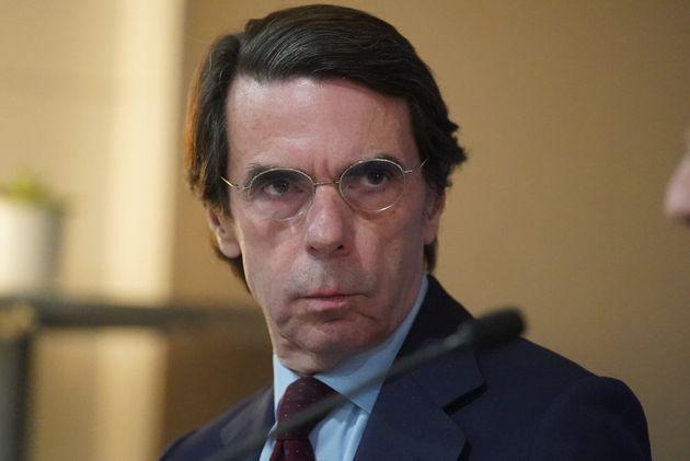 José María Aznar, en Bilbao el 20 de febrero de 2020 (H. Bilbao/Europa Press via Getty