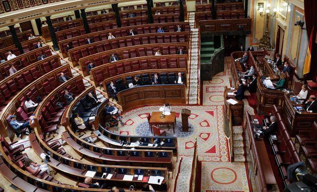 Debate en el Congreso sobre la quinta prórroga del estado de