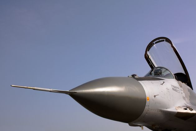 Close-up of a MiG 29 AS Related MiG 29