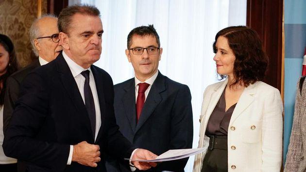 José Manuel Franco e Isabel Díaz