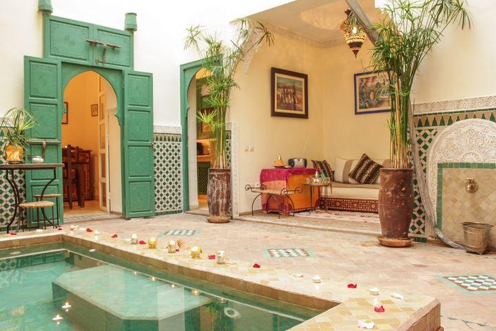 Privatized Rental Riad, Marrakesh, Marrakech-Tensift-El Haouz, Morocco