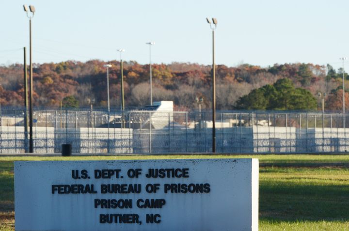 Butner Federal Correctional Complex in Butner, North Carolina.