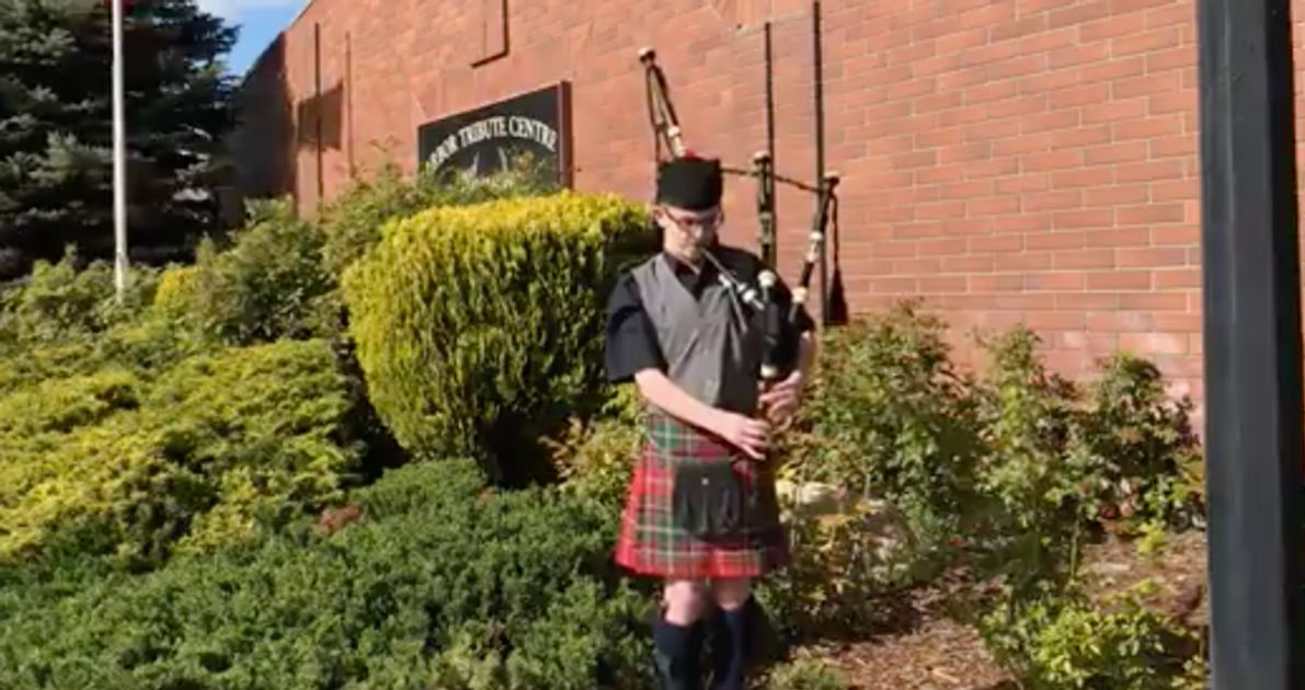 This B.C. Community Found An Unlikely Way To Mourn Loved Ones — With Bagpipes