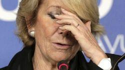 Esperanza Aguirre indigna por estas palabras sobre la sanidad