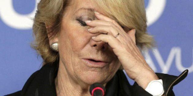 Esperanza Aguirre la vuelve a liar en
