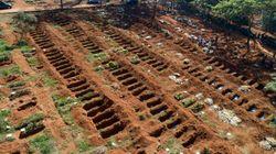 Au Brésil, des enterrements à la chaîne dans le plus grand cimetière d'Amérique