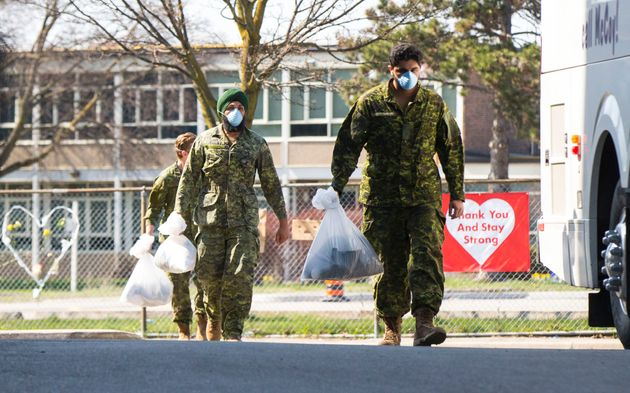 28 militaires infectés dans des CHSLD du Québec et de