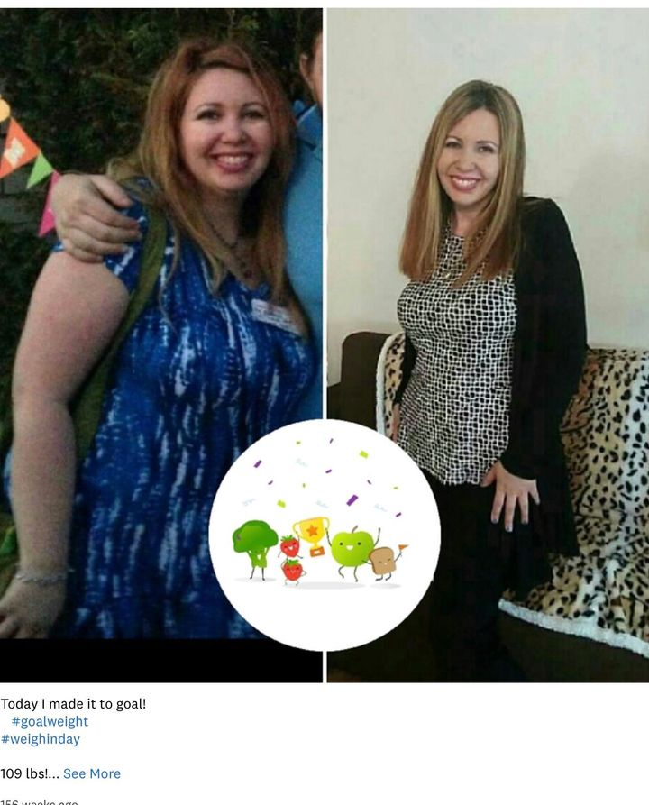Erica Stein lost more than 100 pounds on Weight Watchers before she went to work for the company.