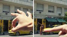 Volkswagen Apologizes For Ad Of Giant White Hand Pushing Tiny Black Man Around