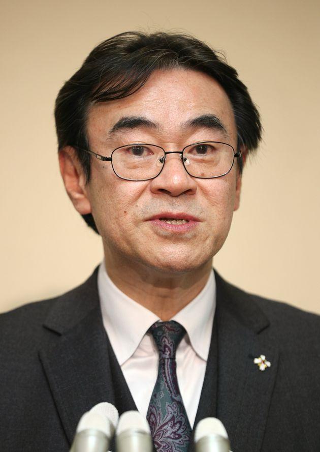 黒川弘務東京高検検事長=2019年1月、東京・霞が関