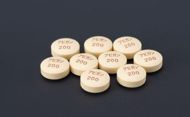 富士フイルムグループが開発したインフルエンザ治療薬「ファビピラビル」(商品名アビガン)