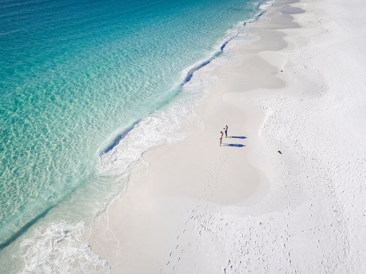 Photo Taken In Hyams Beach, Australia