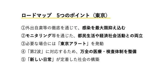 ロードマップ 5つのポイント(東京)
