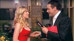 La historia del día que un reportero sobó el pecho a Scarlett Johansson en una alfombra