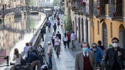 A Milano l'indice Rt risale a 0,86: