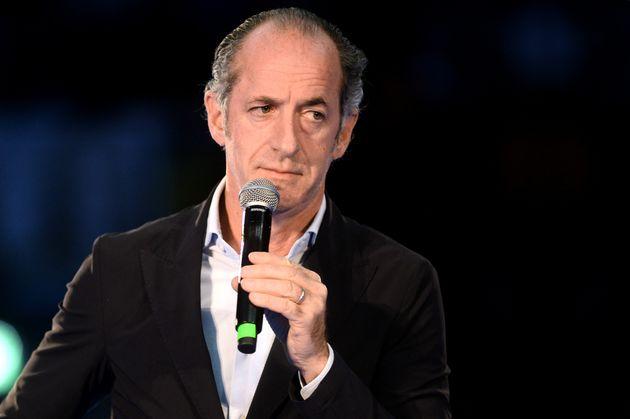 BOLOGNA, ITALY - NOVEMBER 14: Italian politician Luca Zaia Governor of Veneto region of Lega party attends...