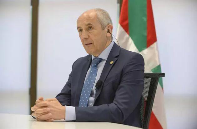 El portavoz del Gobierno Vasco, Josu