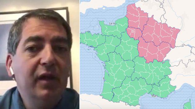 Jean Rottner, le président LR de la région Grand-Est aimerait qu'elle passe en vert au plus