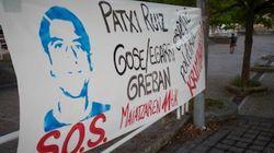 Ingresa en un hospital Patxi Ruiz, el preso de ETA que inició una huelga de