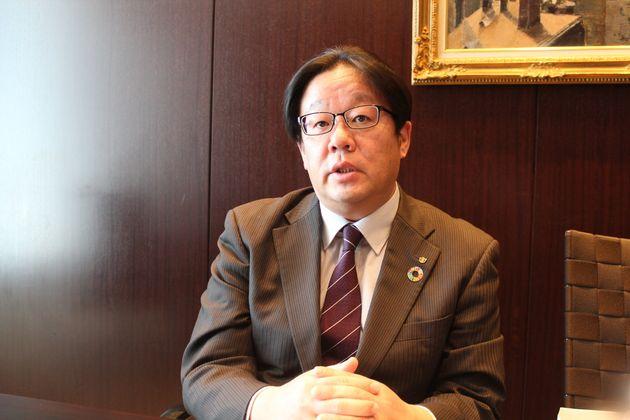 大和総研の齋藤尚登・主席研究員(2020年3月撮影)