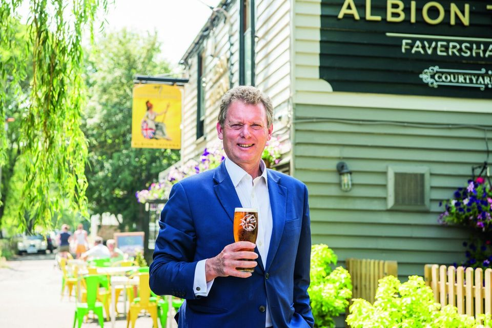 Shepherd Neame chief executive Jonathan Neame believes many pubs will not be able to open at all under...