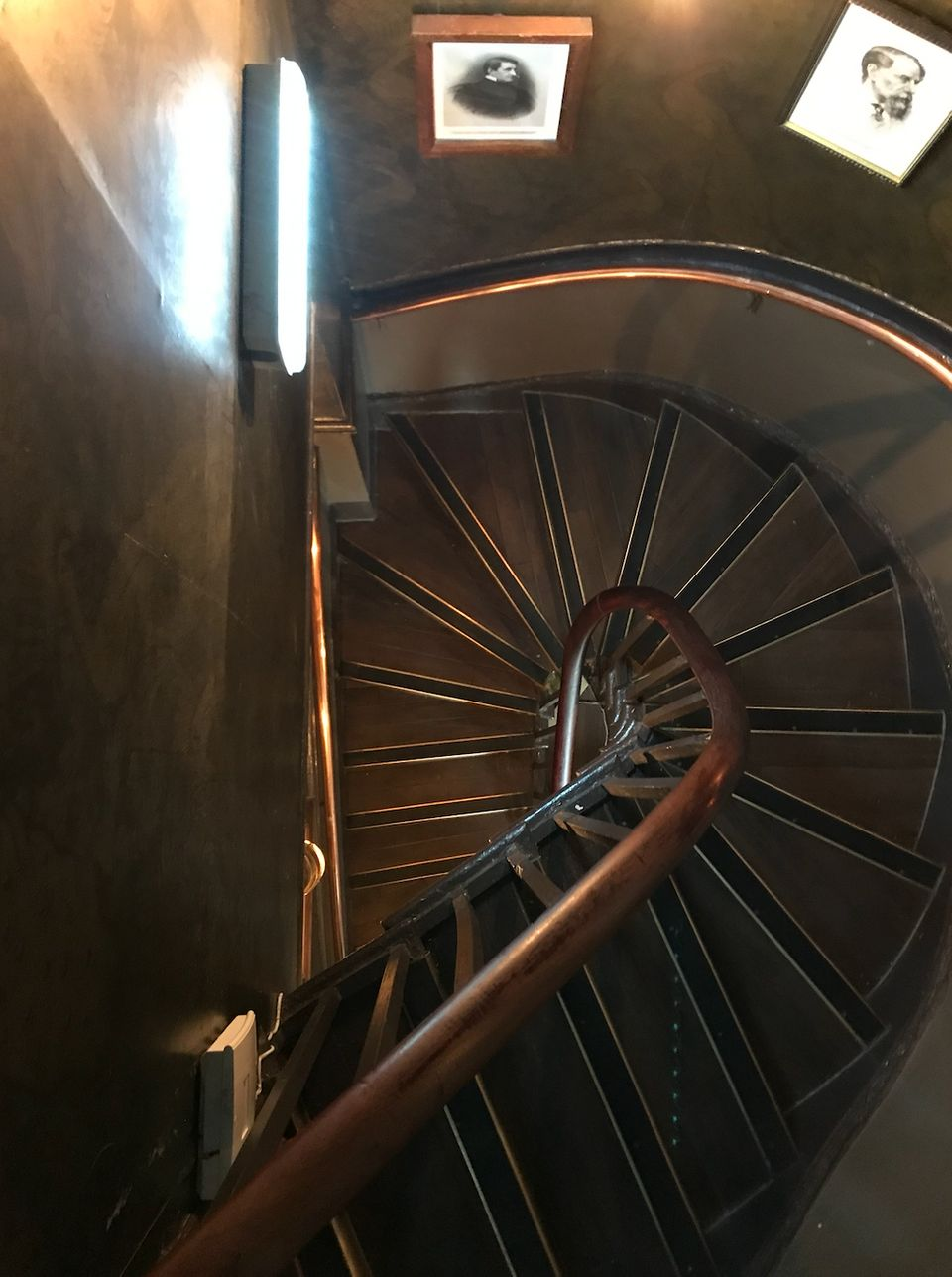 Customers would have to pass through this narrow staircase in The Victoria to reach the toilets –...