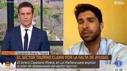 Cayetano Rivera, como respuesta a la pregunta más inesperada:
