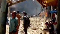 Un avión se estrella en Pakistán con 107 personas a