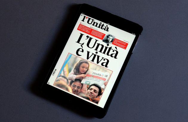 L'Unità in edicola il 23 maggio. Giornalisti e tipografi senza stipendio da