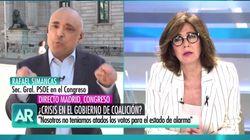 """La respuesta de un diputado de Bildu a Ana Rosa por decir que su partido """"tiene muchos muertos a sus"""