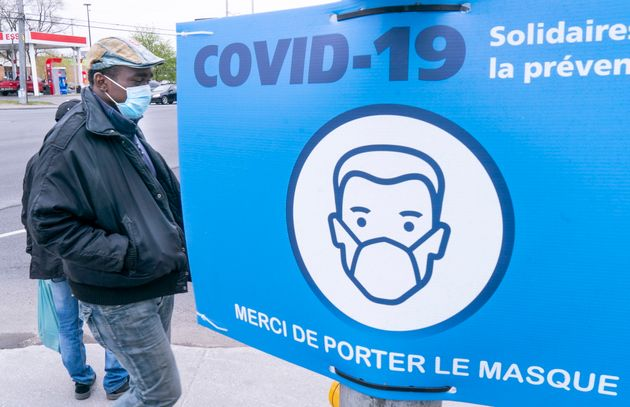 COVID-19 Montréal (Paul Chiasson/La Presse
