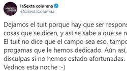 Críticas a 'laSexta Columna' por cómo han anunciado un programa sobre la España