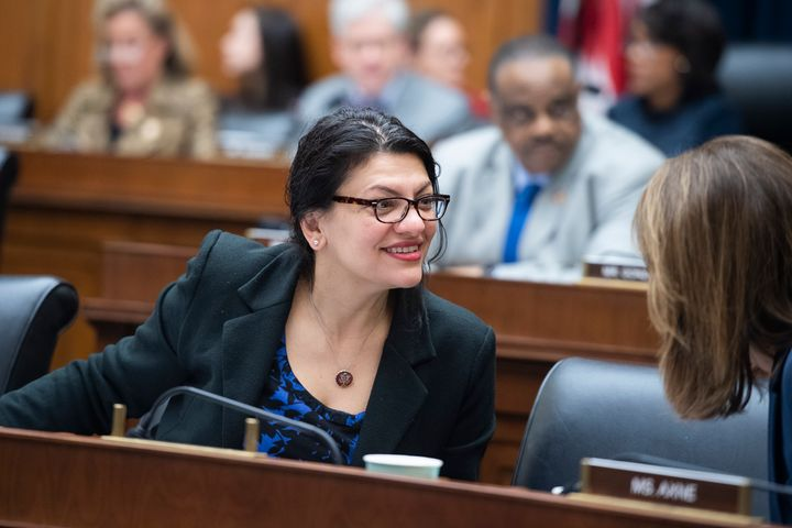 Rep. Rashida Tlaib is being challenged in the Democratic primary by Detroit City Council President Brenda Jones.