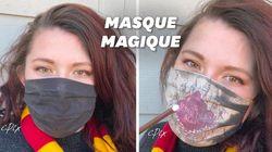 Les fans d'«Harry Potter» vont adorer ce masque