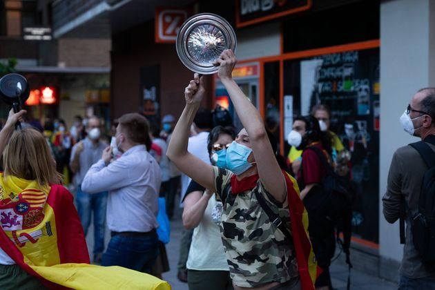 El Gobierno recalca a quienes protestan contra él que hay libertad para manifestarse pero no para