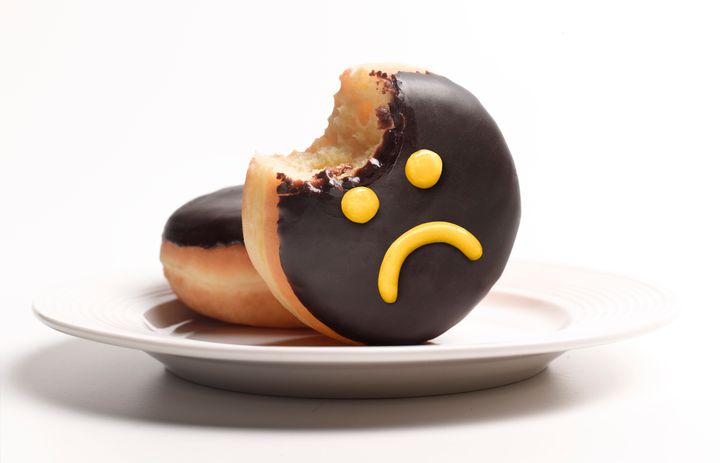 The joy of eating a doughnut could be quickly offset by its resulting blood sugar spike.