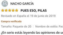 Un usuario de Amazon se convierte en trending topic por comentarios como