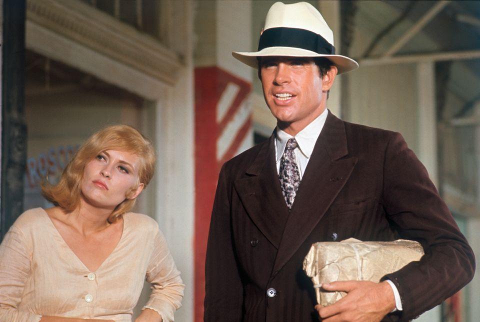 Faye Dunaway e Warren Beatty em