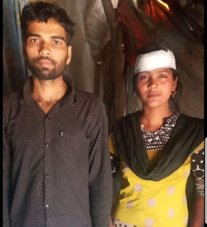 The cops in Haryana caught Faheem and Bano, two migratory workers from Baddi, and sent them back. the newlywed couple is now facing hardships in getting foodgrains and a job.